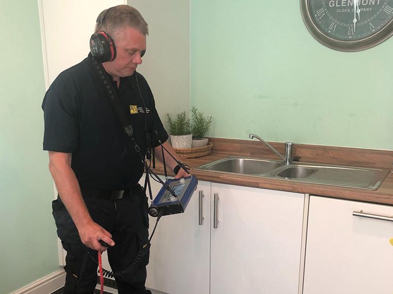 Under Floor Central heating leak detection In Buckinghamshire
